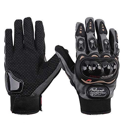ITODA Motorrad-Handschuhe für Motorrad, Motorroller, Herren, Freizeit, Atmungsaktiv, Wasserdicht, stoßfest, antiallergen, mit Touchscreen, für Fahrrad, Motocross, Camping, Wandern 1