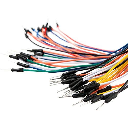 51MEZMxkRQL - Smraza para Arduino Uno R3 Starter Kit con Breadboard, Cables de Puente, Cable USB, Leds y Base Acrílica Compatible con Placa Arduino UNO Mega2560 Mega328 Nano