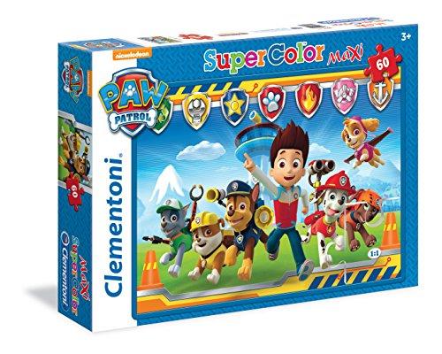 Clementoni 26575 - Paw Patrol Maxi Puzzle, 60 Pezzi
