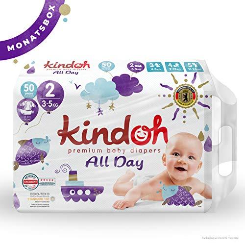 Kindoh All Day Pannolini Mini - Box Mensile - 150 Pezzi (Taglia 2)