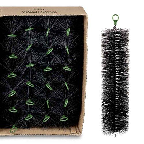 Wagner GREEN 24 Stück Filterbürsten, für Ihren Teichfilter und Koi Teich Filter (60x15 cm)