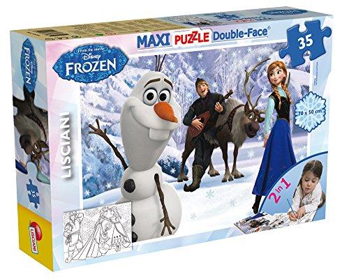 Lisciani 46850 - Puzzle DF Supermaxi 35 Frozen Tit 1