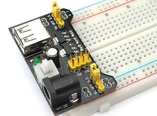 51MVjxjX14L - Ecloud Shop® 3.3V/módulo de alimentación de 5V MB102 breadboad para el Arduino proporcionad