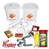 KIT Fermentazione Birra Lusso Coopers con un Malto Lager e la Tappatrice
