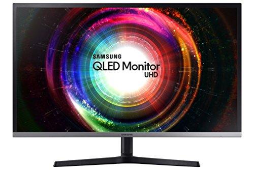 """Samsung U32H850 32"""" 4K Ultra HD VA Noir, Argent Plat écran plat de PC - Écrans plats de PC (81,3 cm (32""""), 3840 x 2160 pixels, LED, 4 ms, 250 cd/m², Noir, Argent)"""