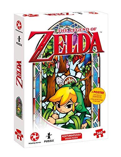 Puzzle su Ins, Avventura con The Legend Of Zelda–The Wind Waker Boomerang (360pezzi, con...