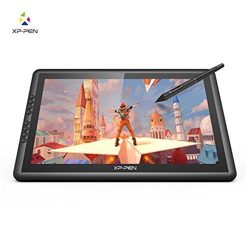 XP-Pen Tablette Graphique Artist 16 Pro Stylet Rechargeable 8192 Niveaux Écran Moniteur FHD IPS avec Support Ajustable