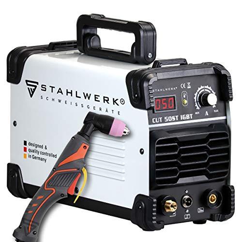 STAHLWERK CUT 50 ST IGBT Plasmaschneider mit 50 Ampere, bis 14mm Schneidleistung, für Lackierte Bleche & Flugrost geeignet, 5 Jahre Herstellergarantie*