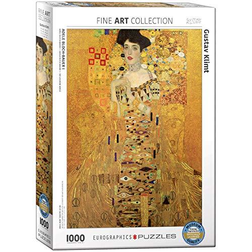 Eurographics 09947 Klimt: Adele Bloch-Bauer I, Puzzle, 1000 Pezzi