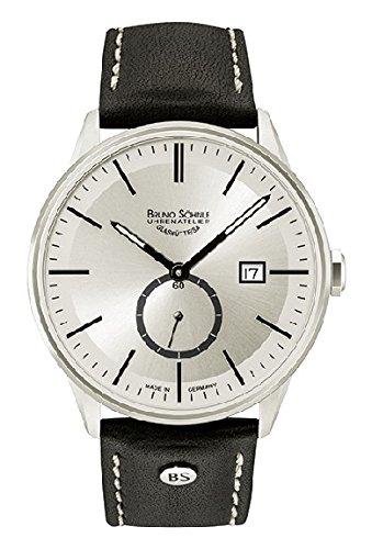 Bruno Söhnle Herren Analog Quarz Uhr mit Leder Armband 17-13182-241