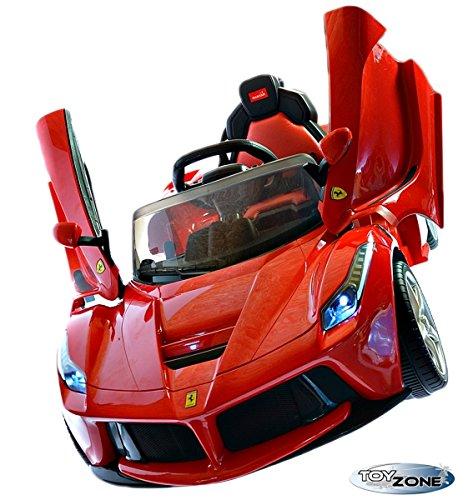 #Kinderfahrzeug 12V Kinder Elektro Auto La Ferrari 2,4 GHZ RC Steuerung#