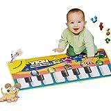 Samtaiker musica musicale bambino pianoforte a tappeto regalo calcio morbido giocattoli animali educativi