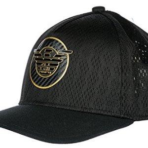 1c0c70e5319 Emporio Armani EA7 adjustable men s hat baseball cap train soccer black