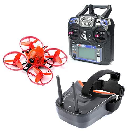 FEICHAO Snapper7 Micro Brushless FPV Racer Drone RTF 700TVL Camera VTX e Doppio Antenna Mini Goggles