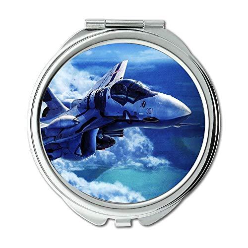 aerei da combattimento, Specchio, Specchietto da viaggio, droni da combattimento, specchio...