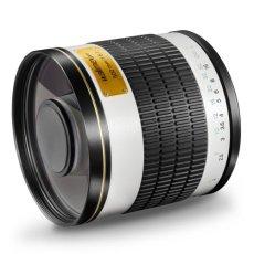 Walimex 15542 - Objetivo para cuatro tercios (distancia focal fija 500mm, apertura f/6.3, diámetro: 34mm) color negro