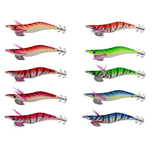 Free Fisher 10 Esche Squid Jig per Seppia