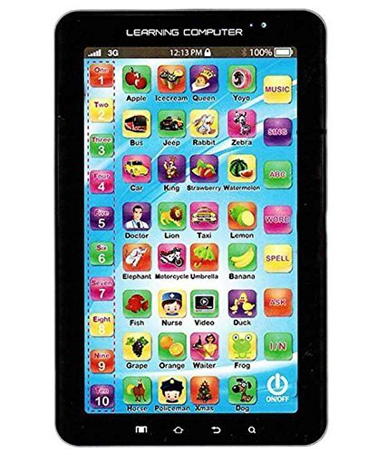 Oviwa English Learner Kids Tablet, Blue