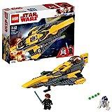 LEGO Star Wars 75214 Anakin's Jedi Starfighter, Kinderspielzeug