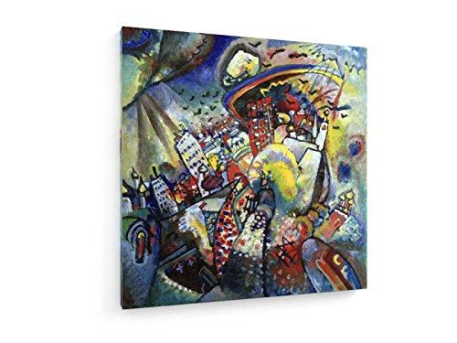 Wassily Kandinsky - Piazza Rossa - 1916 - 40x40 cm - Belle stampe d'arte tela textile - arte della...