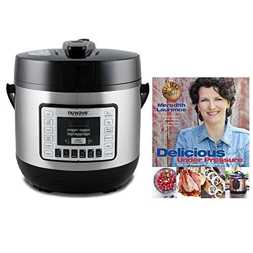 Nuwave 33501 13 Qt. Electric Pressure Cooker (13 Quart W/Cookbook, Silver & Black)