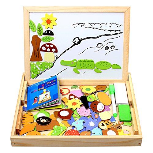StillCool Puzzle Magnetico Bambini ,Giochi Montessori Magnetica Double Face Magnetica Puzzle...