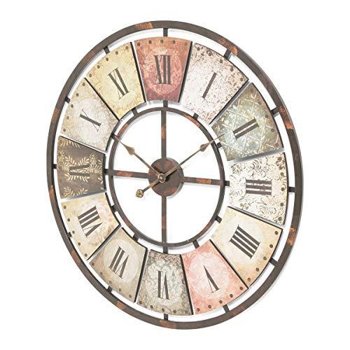 Pureday Orologio da Parete con Numeri Romani quadrante Antico analogico