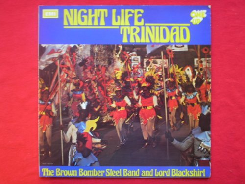 Brown Bomber Steel Band & Lord Blackshirt Night Life Trinidad LP One Up OU2017 EX/EX 1973