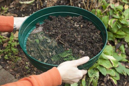 Apollo Gardening - Tamiz de Malla para jardinería (12 mm)