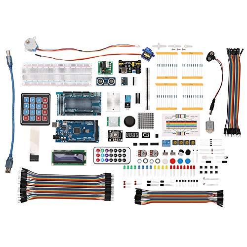 Yeshai3369 Componenti elettronici Starter Project Kit Completo per Arduino Mega 2560 Servo Motor