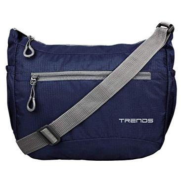 Polyester Nylon Light Weight Unisex Sling Bag 2