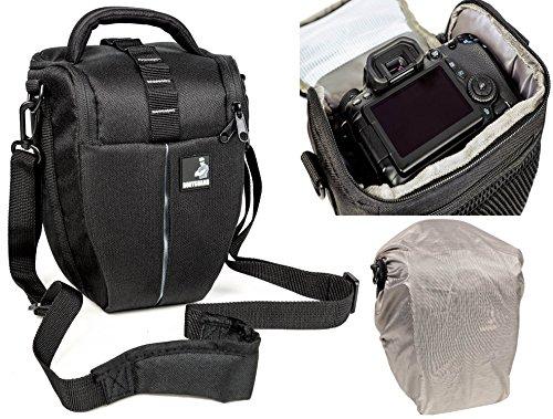 Sacchetto della macchina fotografica BODYGUARD Colt L con parapioggia per tutte le fotocamere reflex...