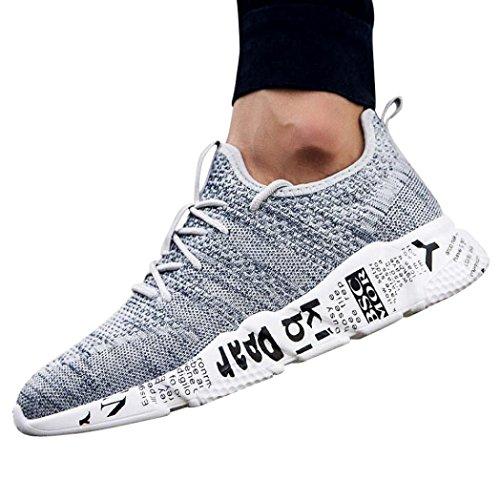 9ad0da9436 UOMOGO Sneakers Uomo, Scarpe da Fitness Uomo, Scarpe da Sportive Corsa  Running Sport Sneaker Casual Outdoor Tennis Scarpe da Ginnastica 3 cm - You  ...