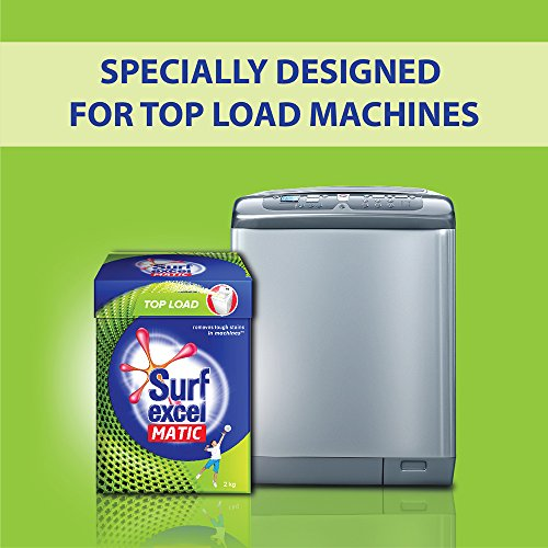 Surf Excel Matic Top Load Detergent Powder, 2 kg 8