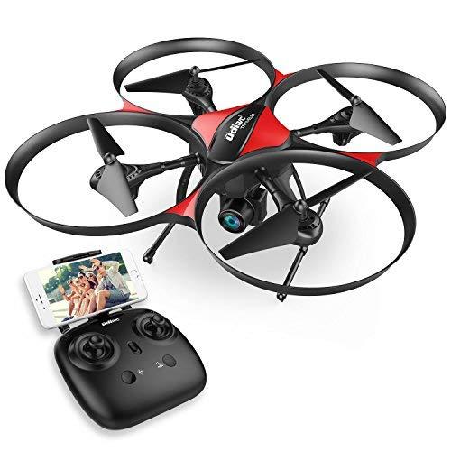DROCON – Drone TRAVELER / U818A Plus con FPV e Aggiornato con Mantenimento Quota – Telecamera HD...