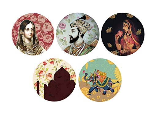 Real Art | Block Decor | Wall Hanging Plate 7"