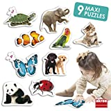 Akros 50221 Maxi - Puzzles para Animales