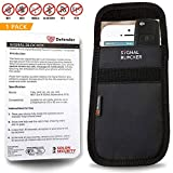 Solon Security OT01163 Defender Mobile Phone and Key Signal Blocking Security Case Pouch - Black
