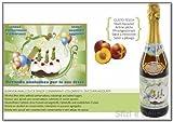 Spumante analcolico per bambini AUGURI frizzante alla frutta