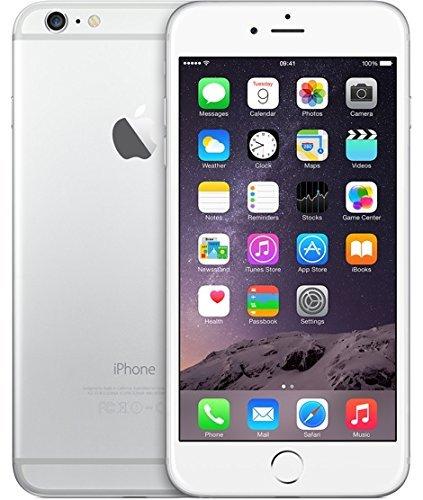 Apple iPhone 6 Plus 5.5' UNLOCKED Silver 64 GB SIM FREE (64GB, Silver)