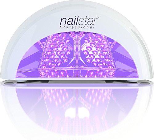 NailStar Lampada a LED Professionale Asciuga Smalto per Unghie, per Manicure Shellac e con Smalto...