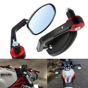 ViZe Außenspiegel Motorrad Spiegel Hinten Universal Spiegel Motorrad 3
