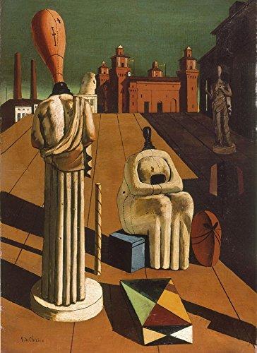Clementoni 39246 - Puzzle De Chirico - Muse Inquietanti, Collezione Museum, 1000 Pezzi