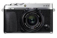 Fujifilm X-E3 - Cámara Evil de 24.3 MP y kit cuerpo con objetivo Fujinon XF 23 mm F2 R WR, color plata