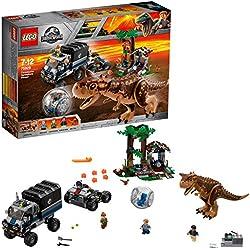 LEGO Jurassic World - Huida del Carnotaurus en la girosfera (75929)