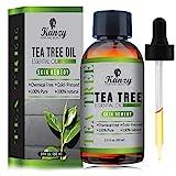 KANZY Aceite esencial de árbol de té - Para masaje - para la cara y Cuerpo - El tratamiento para...
