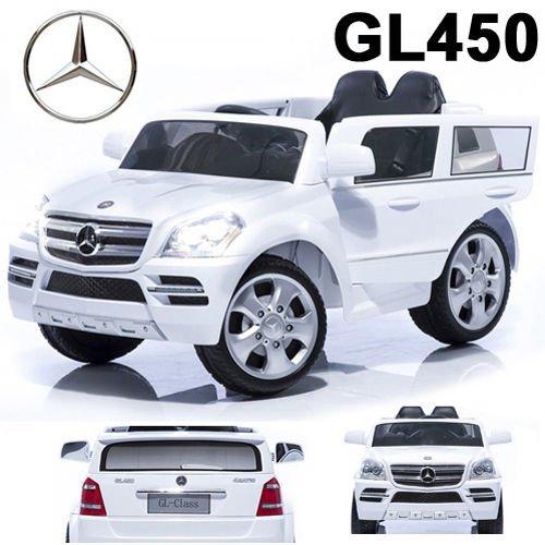 #Mercedes-Benz SUV GL450 GL 450 Jeep 12V Kinderauto Kinderfahrzeug Kinder Elektroauto (Weiss)#