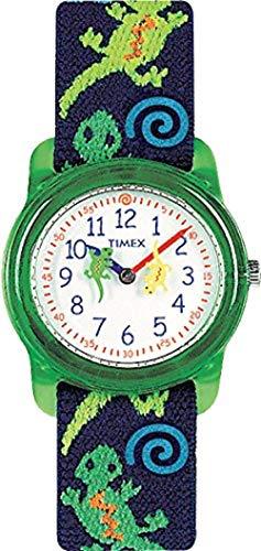 Timex T72881 Orologio Analogico da Polso da Bambini, Tessuto, Jeko, Multicolore