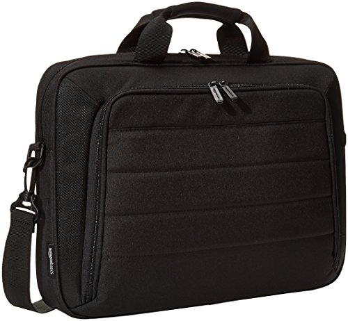 AmazonBasics Laptop and Tablet Case, Black, 44 cm (17.3 inch)