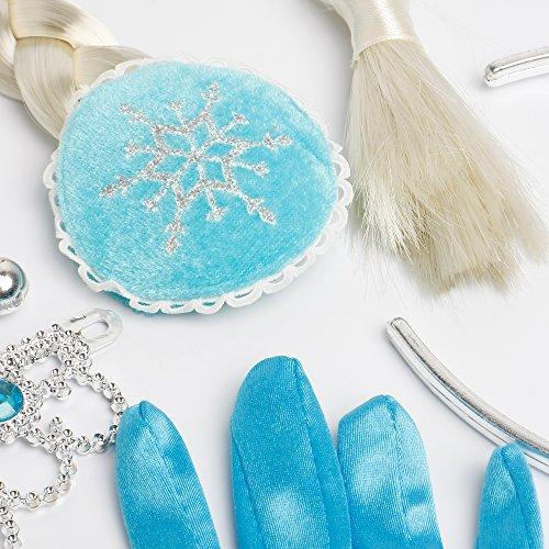 Accesorios de disfraz de elsa princesa de hielo conjunto - Guantes de hielo ...